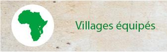 Villages équipés